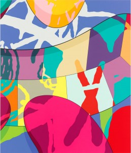 KAWS, Flight Time, 2015