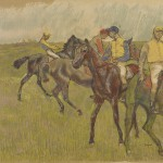 Degas, Before the Race