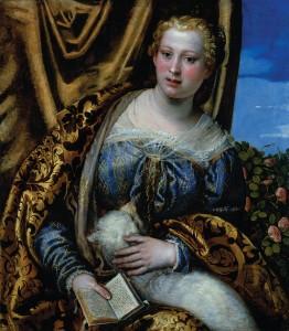 Veronese, Portrait of a Woman as Saint Agnes
