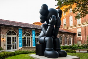 KAWS, Companion (Passing Through), 2010. 16 feet. On view until August 2016