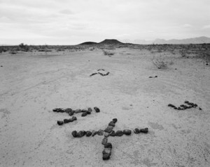 Michael Berman, X, Y & Z , Camino del Diablo, Arizona, 2007