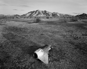 Michael Berman, Fallen Ordnance,Mohawk Valley, Arizona, 2007