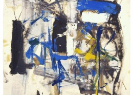 Untitled, 1957, oil on paper