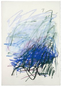 Joan Mitchell, Untitled, 1992, Pastel on paper