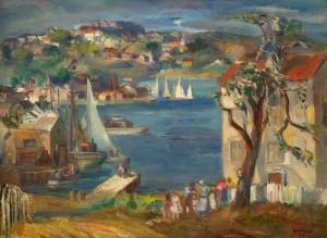Jon Corbino, Gloucester Harbor, 1934