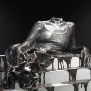 Diana Al-Hadid, In Mortal Repose, 2011, Bronze and concrete