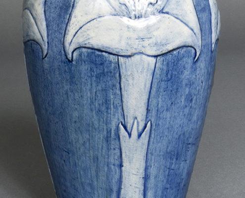 Leona Nicholson, artist, Angel's trumpet vase, , 1902-03