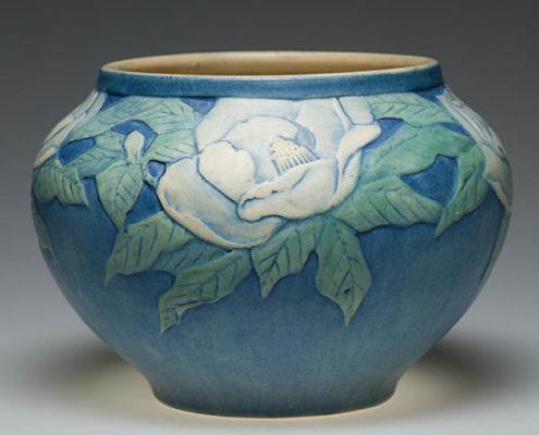 Anna Frances Simpson, artist, Magnolia cachepot, c. 1921