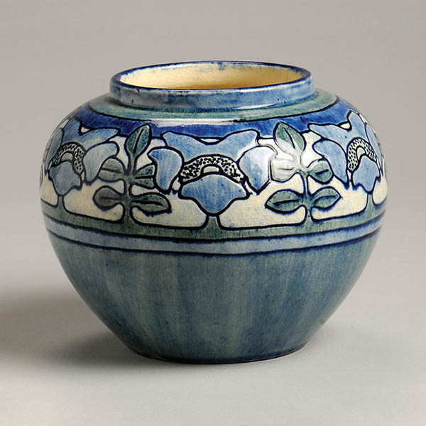 Unknown artist; Joseph Meyer, potter, Mock Orange vase, c.1905