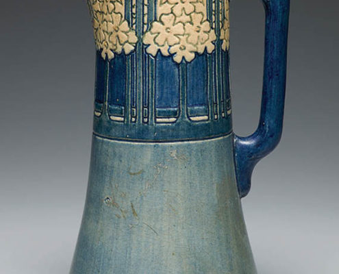 Unknown artist, Phlox pitcher, c. 1910