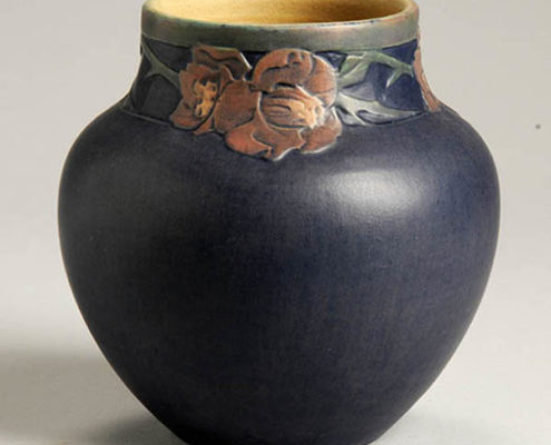 Sadie Irvine, artist, Camillia sasanqua vase, c. 1925